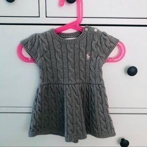 🐨Ralph Lauren🐨 Baby girl knit dress